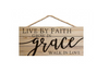 Live By Faith Wall Hanging