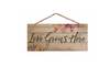 Love Grows Here Wall Hanging