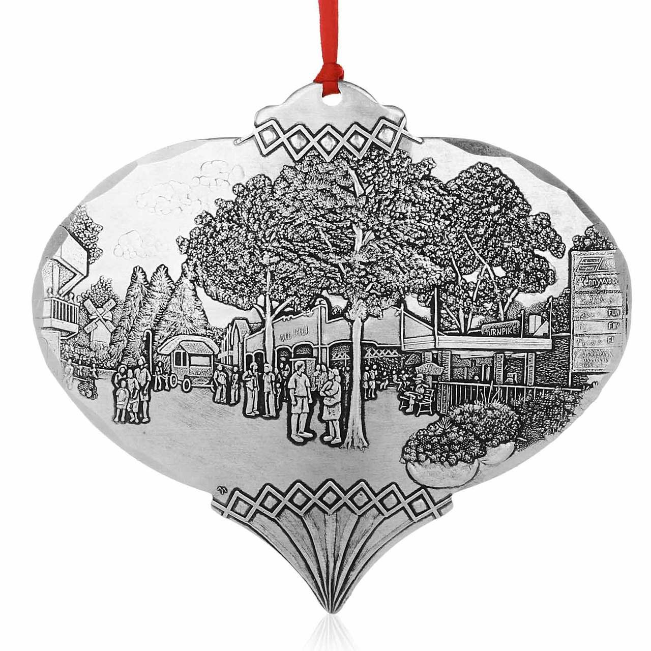 Pittsburgh Christmas Ornament, Kennywood\'s Magical Entrance by Linda ...
