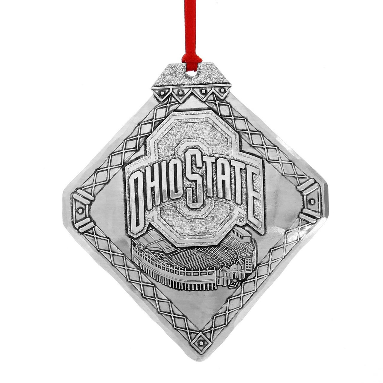 Ohio State Christmas Ornament, Stadium | Wendell August Ornaments