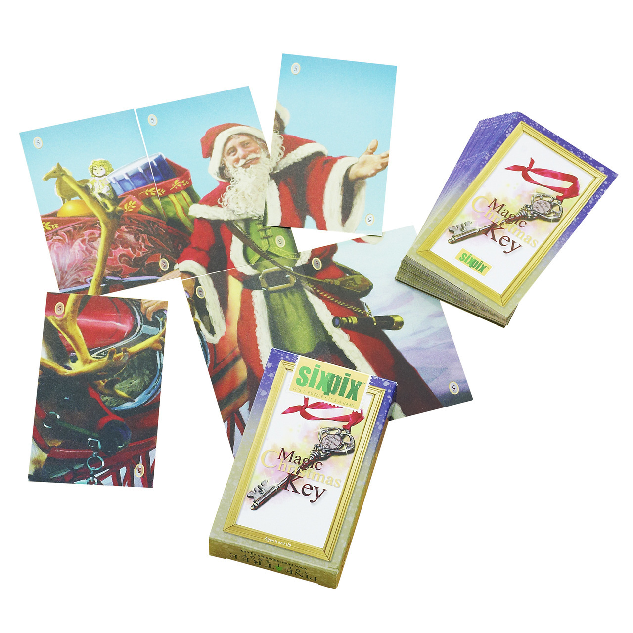 Christmas Gacme, Stocking Stuffer, Magic Key Six Pix Cards | Wendell ...