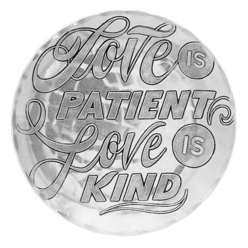 Love is Patient Coaster