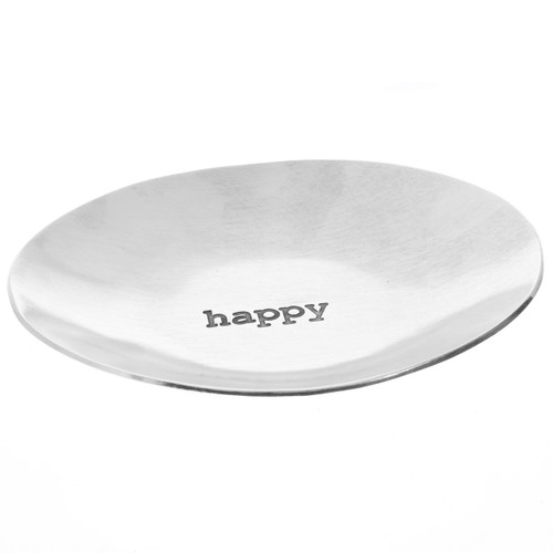 Happy Small Oval Dish