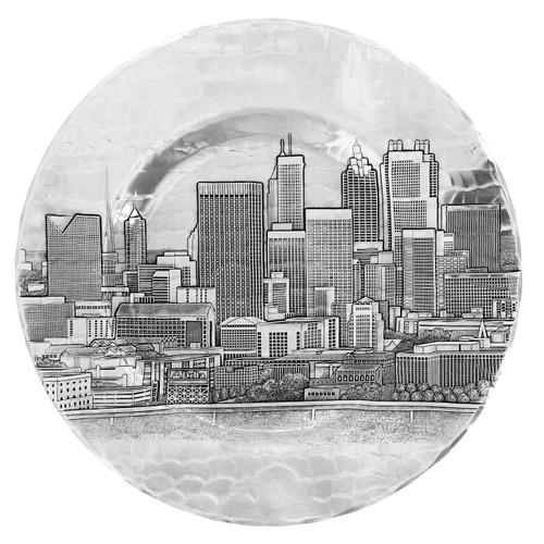 "Atlanta Skyline 9.5"" Well Plate"