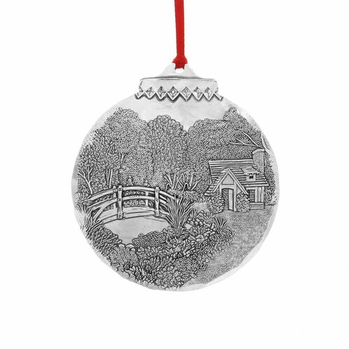 Dallas Small House of Monet Christmas Ornament