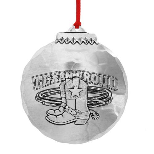 Texan Proud Souvenir Christmas Ornament
