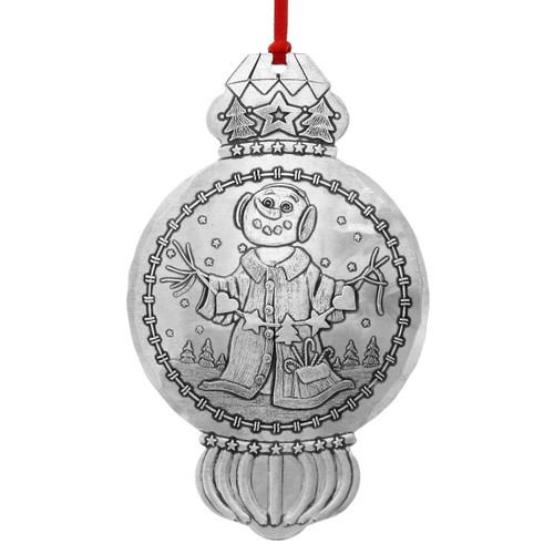 Twig Snowman Christmas Tree Ornament