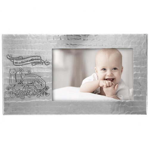 Personalized Woodland Baby Frame | Wendell August
