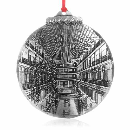 Cleveland Old Arcade Christmas Ornament