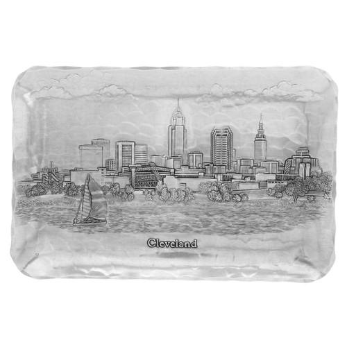 Cleveland Skyline Sandwich Tray