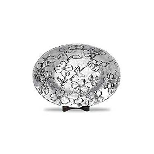 Dogwood Decorative Metal Bowl