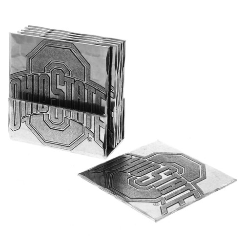 Ohio State University Square Coaster Set