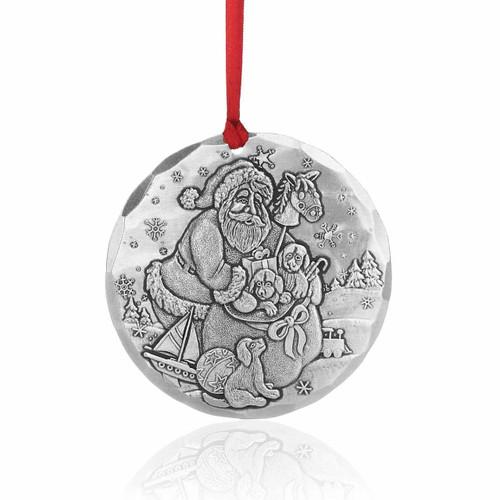 Puppies Keepsake Christmas Ornament