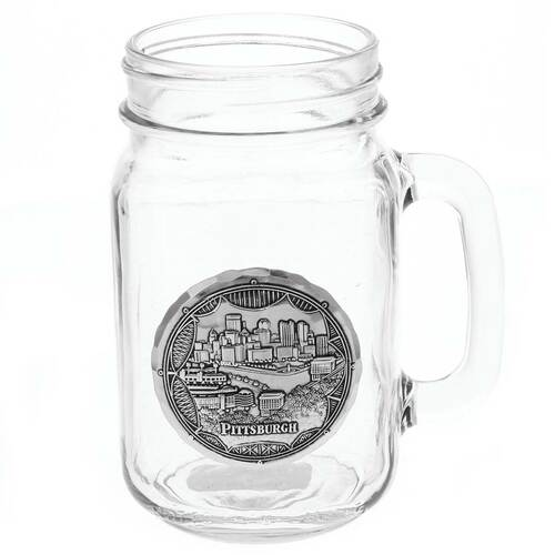 Pittsburgh Bridges Mason Jar Mug