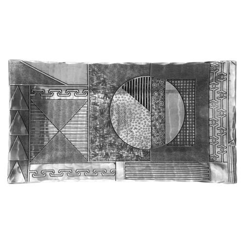 Modern art handmade aluminum dresser tray