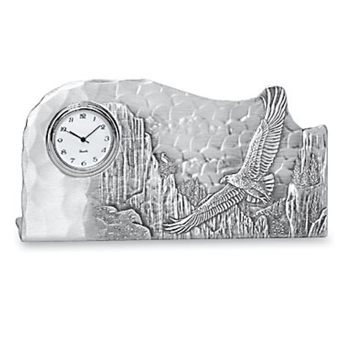 Designer Clock Father's Day Gift Made in USA by Wendell August