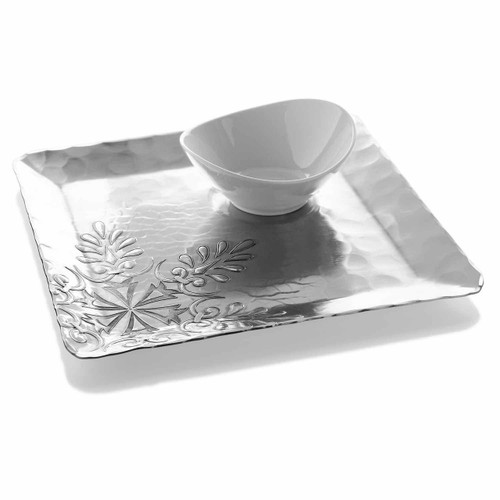 Snowflake Chip and Dip Set