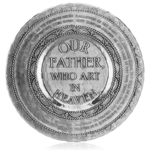 Lord's Prayer Keepsake Religious Plate