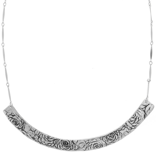 Rose Bar Necklace