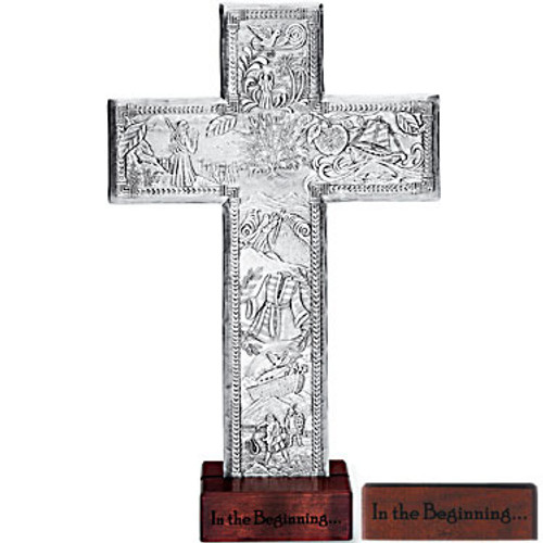 Christian Gift Cross Figurine Wedding Gift Wendell August Forge