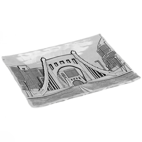 Pittsburgh's Clemente Bridge from the North Shore Accessory Tray