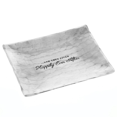 Personalized Happily Ever After Accessory Tray