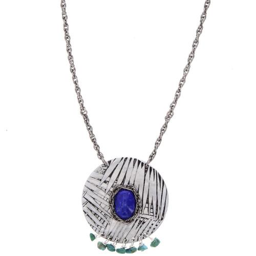 Tropical Breeze Island Medallion Necklace