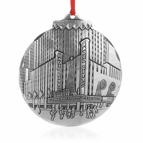 Holiday Spectacular at Radio City Music Hall Ornament - Aluminum