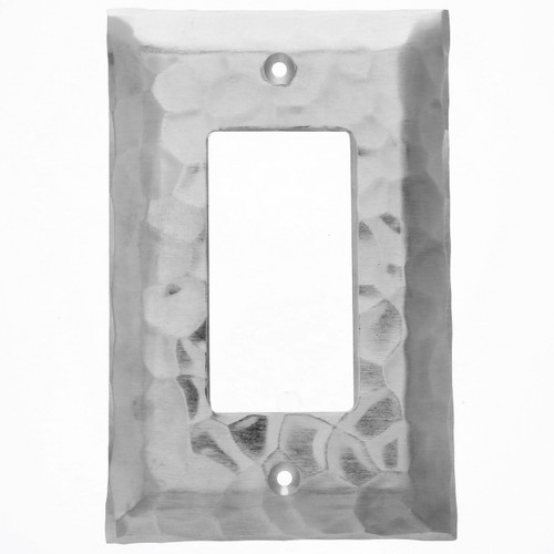 Waterfall GFCI Outlet Cover (Aluminum)