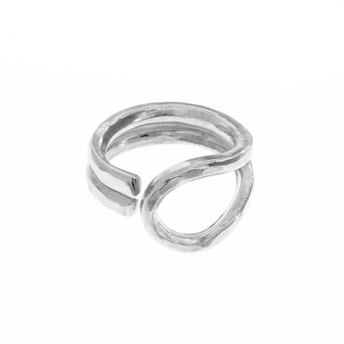 Upcycled Metal Ramble Fashion Ring