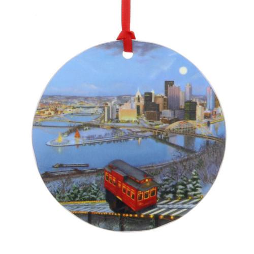 My Hometown Luminosity Ornament