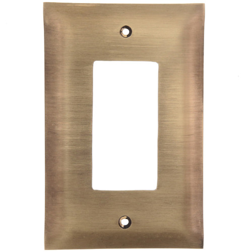 Brushed Bronze GFCI Cover