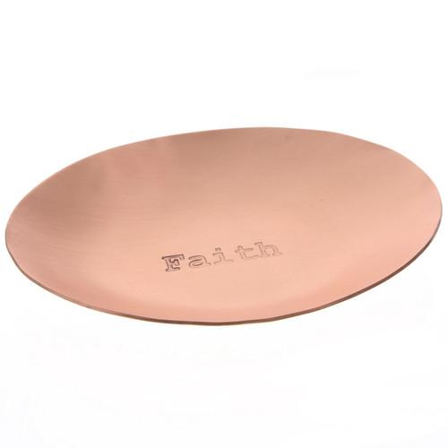 Faith Copper Small Oval Dish