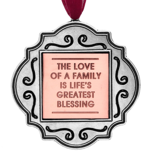 The Love of a Family Ornament