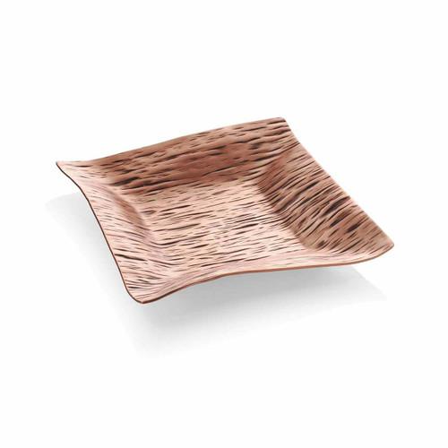 Copper Monet Canape Plate