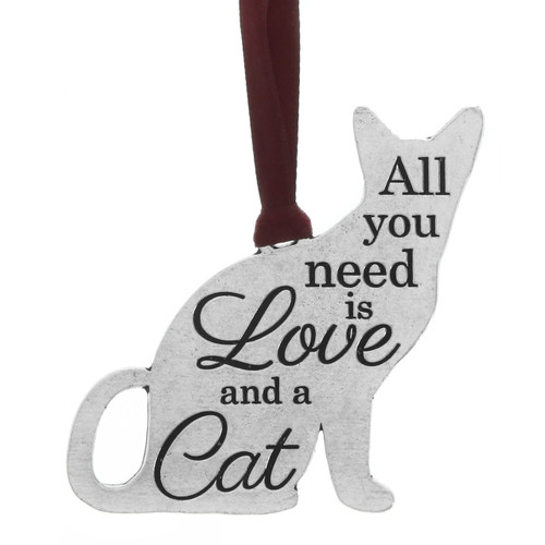 All You Need is Love and a Cat Ornament