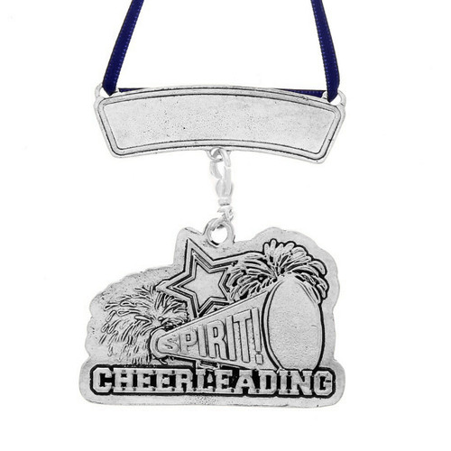 Personalized Cheerleading Sports Ornament