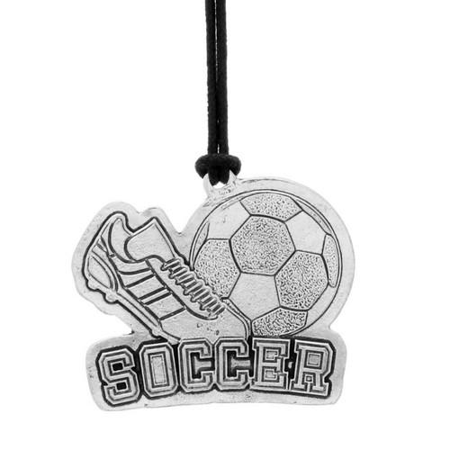 Soccer Sports Bag Tag
