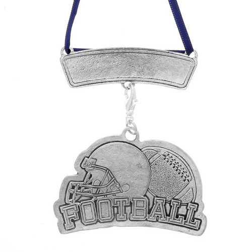 Personalized Football Sports Ornament