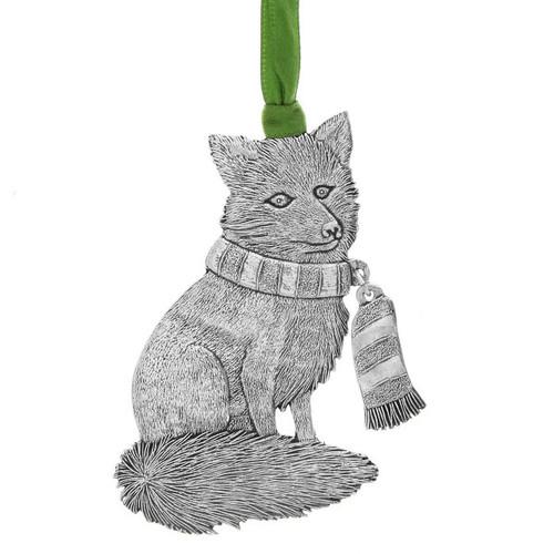 Snowy Fox Ornament