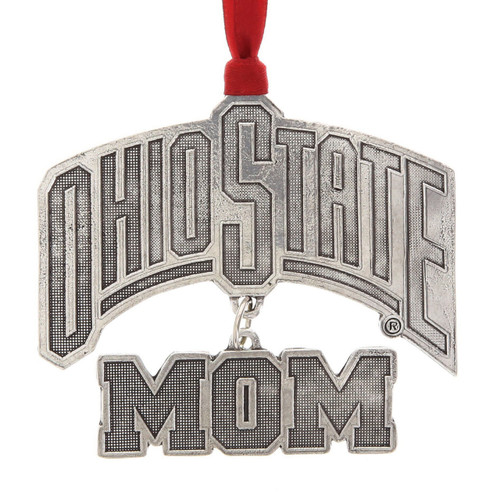 Ohio State Mom Christmas Ornament