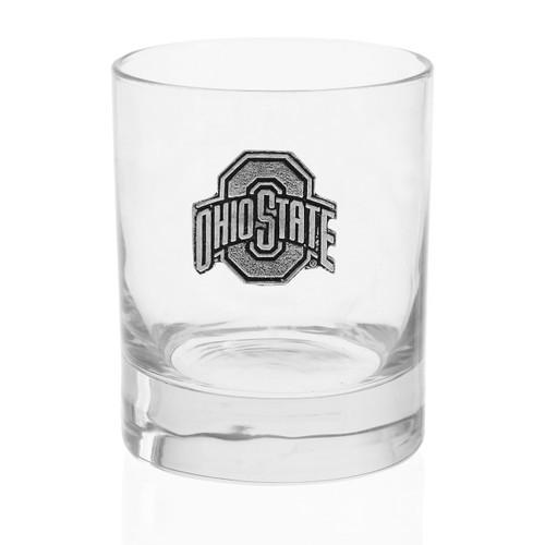 Ohio State Rocks Glass