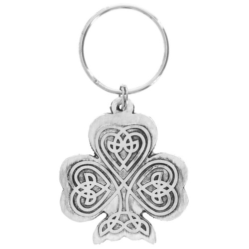 Celtic Cross Irish Prayer Keyring