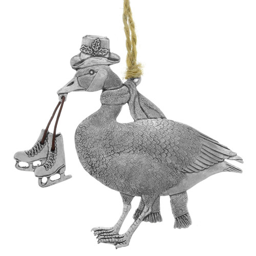 Gifting Goose Ornament
