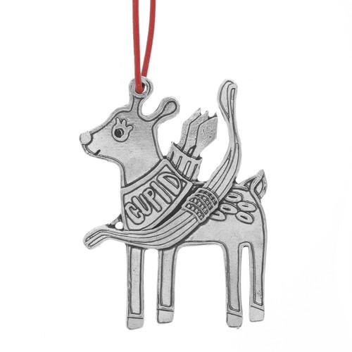 Cupid Reindeer Games Ornament