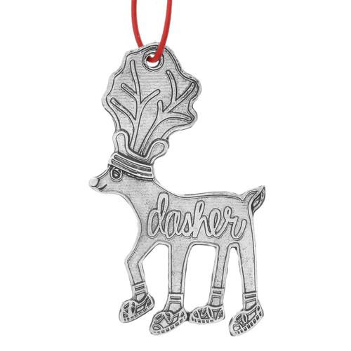 Dasher Reindeer Games Ornament