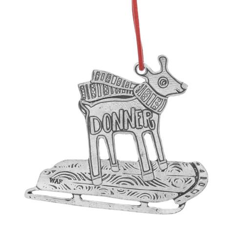 Donner Reindeer Games Ornament