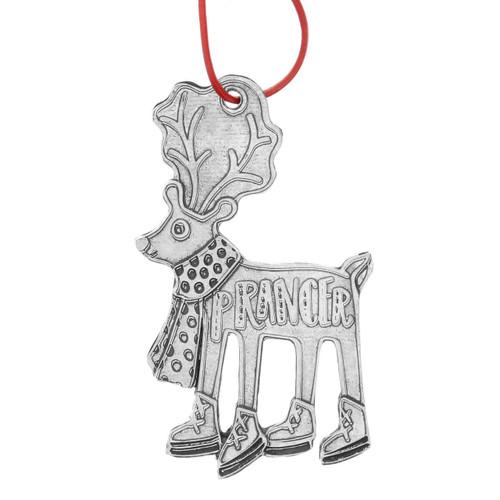 Prancer Reindeer Games Ornament