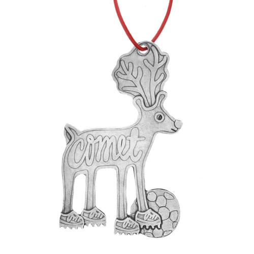 Comet Reindeer Games Ornament