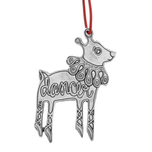 Dancer Reindeer Games Ornament
